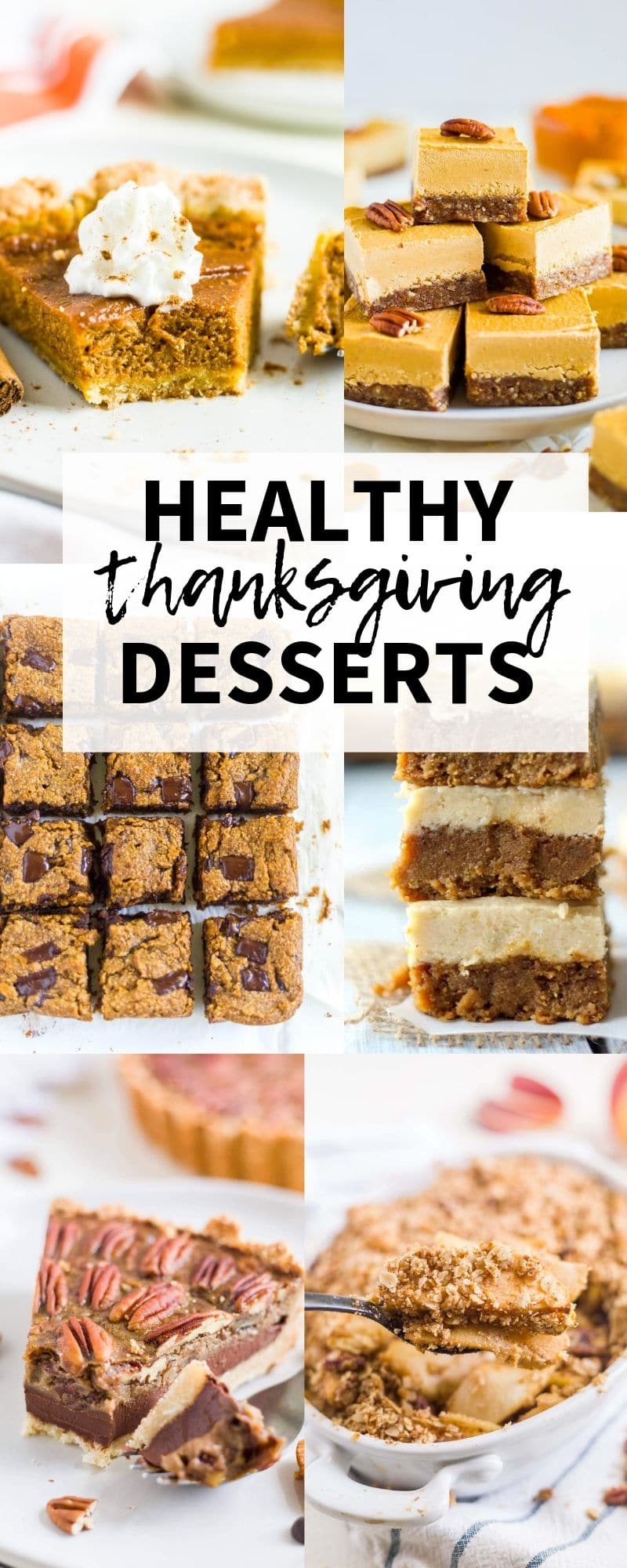easy healthy thanksgiving desserts