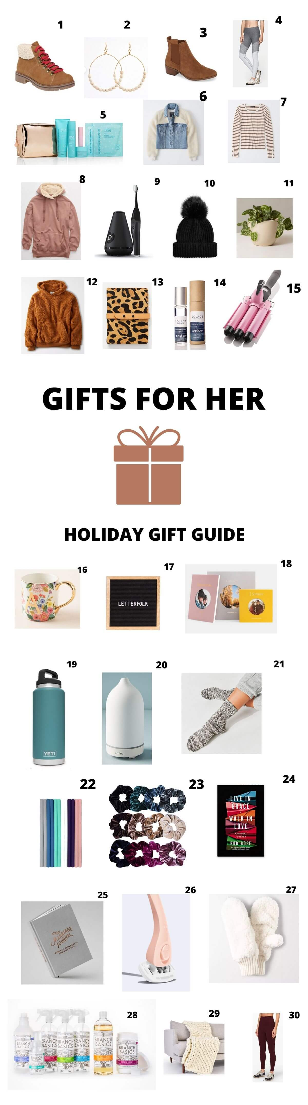 holiday gifts for her 2019