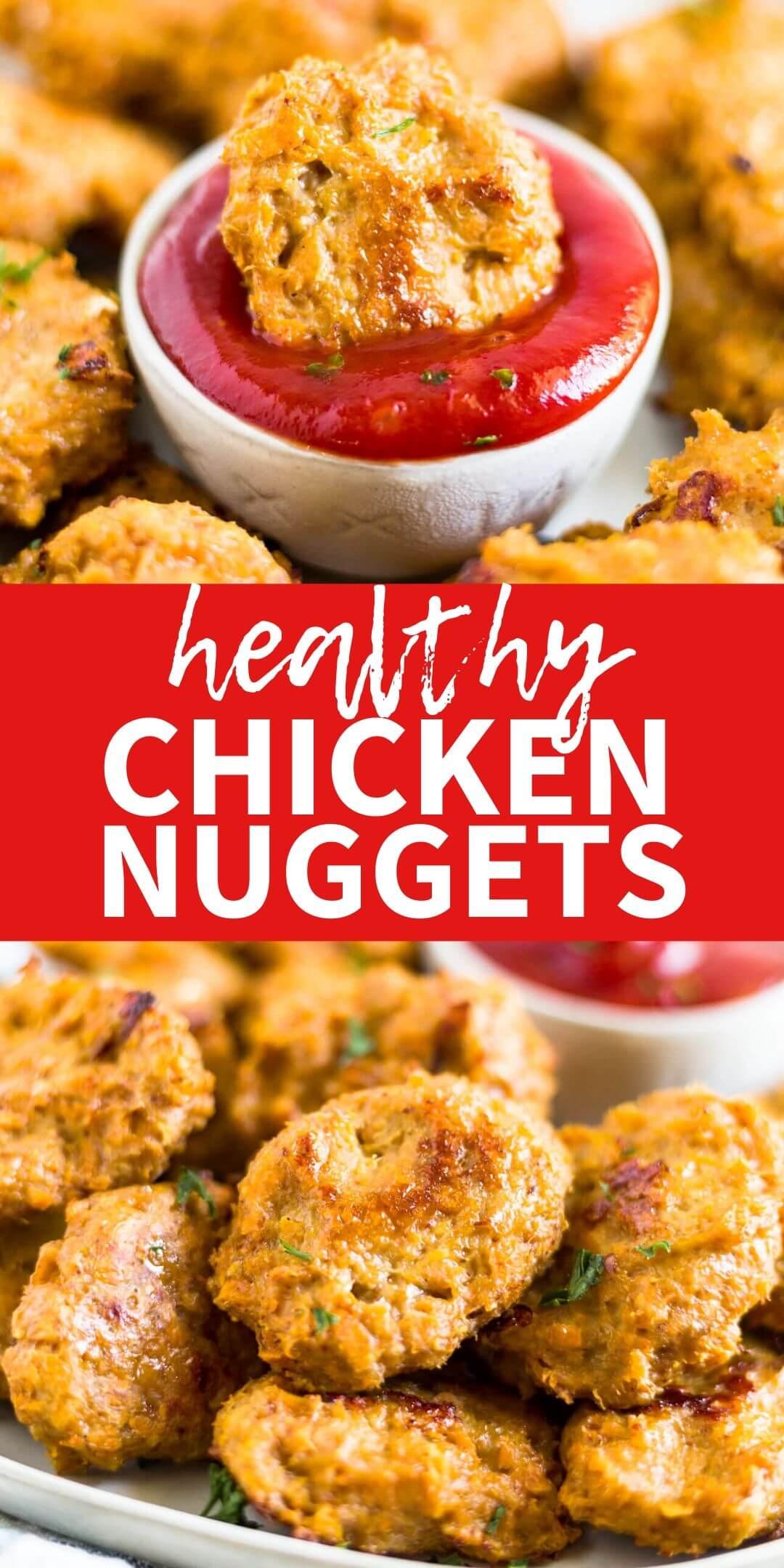 healthy chicken nuggets recipe colalge