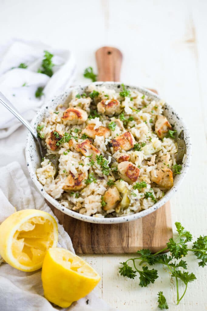 Instant Pot Greek Chicken And Rice