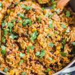 Mexican Beef and Rice [One Pot Meal]