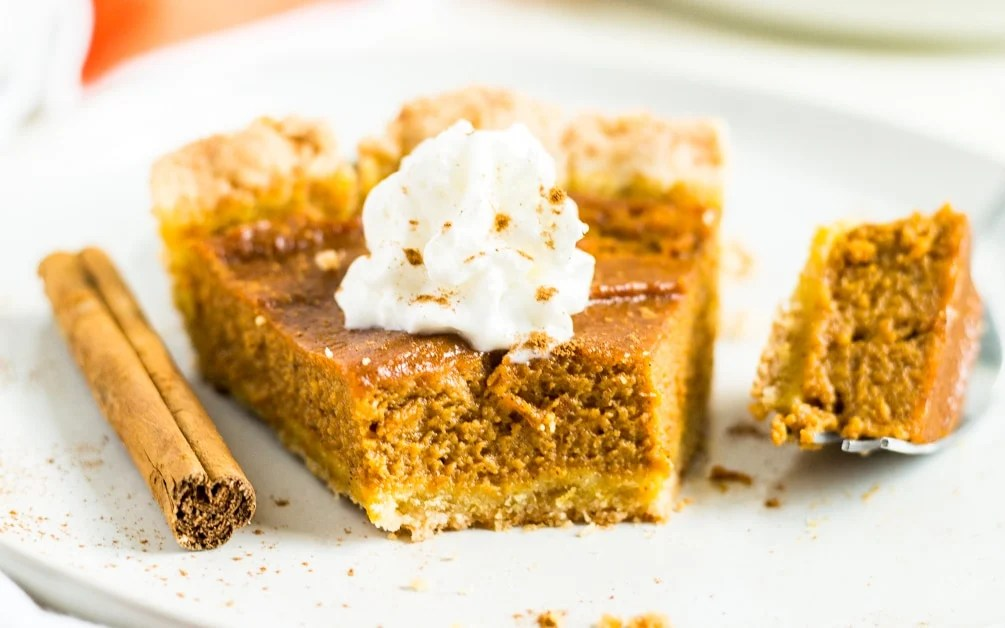 gluten free pumpkin pie for thanksgiving