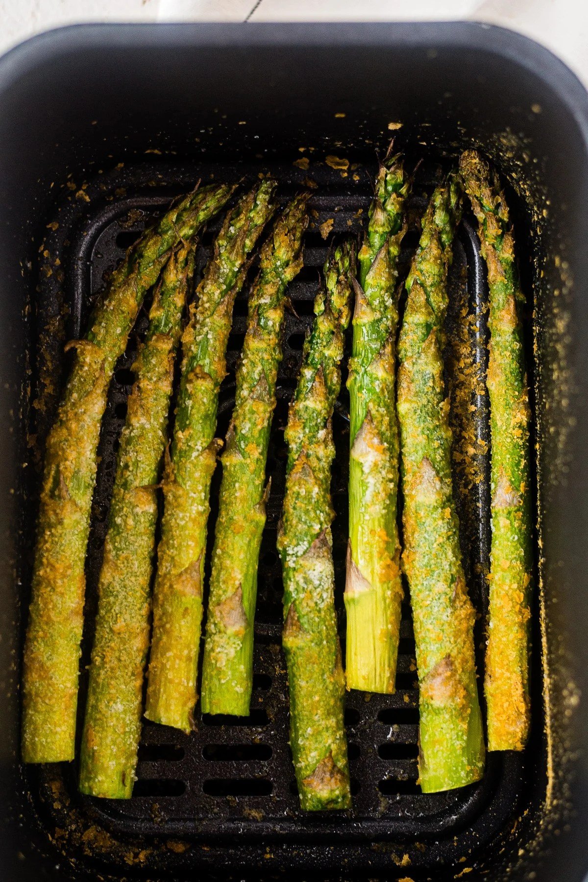 roasted asparagus in the air fryer