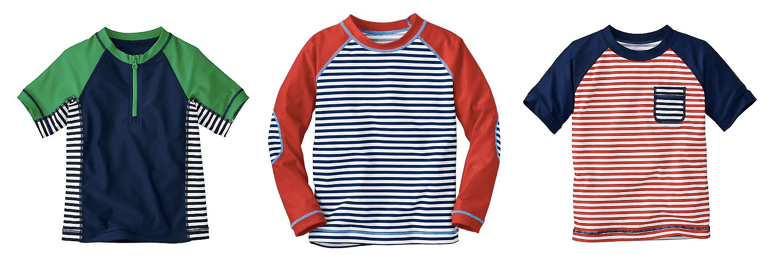Hanna Andersson Boys' Sun-Ready Rash Guards