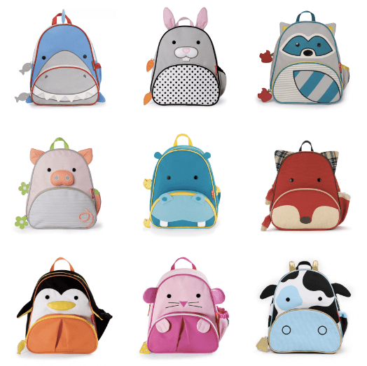 Skip Hop Zoo Collection Backpacks