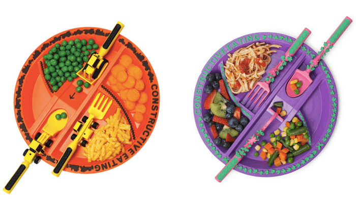 Products to Make Eating Fun for Kids. How to Get Picky Eaters to Try New Foods. Constructive Eating Construction / Garden Plate and Utensil Sets.
