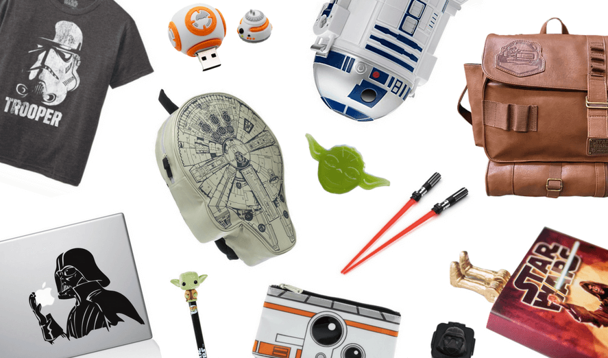 The Coolest Star Wars Back-to-School Supplies for Your Jedi-in-Training | Back-to-School Guide2016