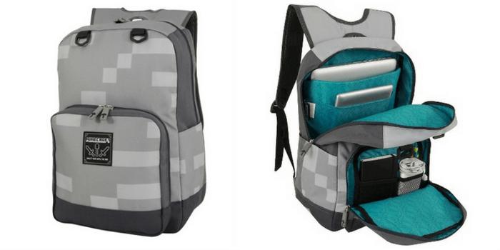 Target Minecraft Backpack – Miner Gray