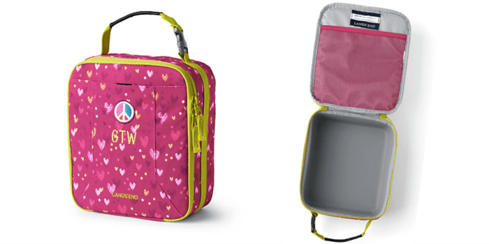 LandsEnd ClassMate EZ Wipe Lunch Box