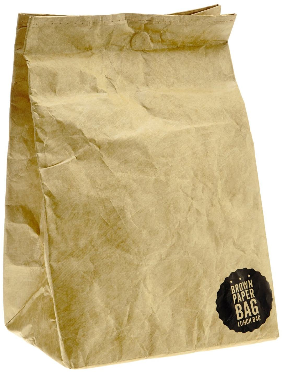 Luckies of London Brown Paper Lunch Bag