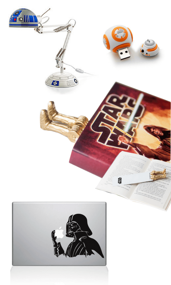 Star Wars cool homework station supplies for kids back-to-school