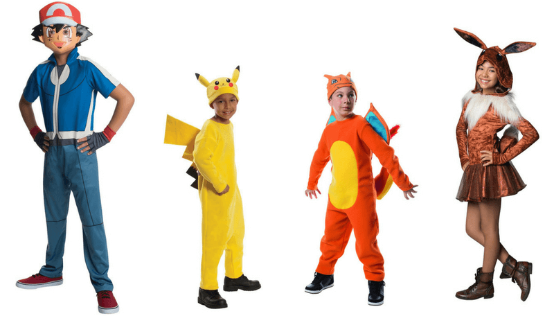 Creative Halloween Costumes for Siblings - Pokemon Go