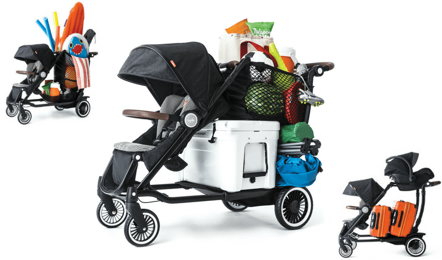 Austlen Entourage Stroller Review. Huge Storage Capacity.