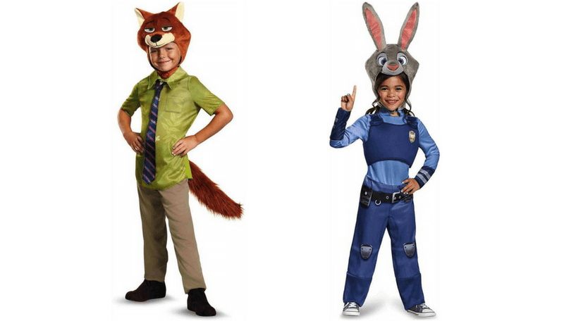 Creative Halloween Costumes for Siblings - Zootopia