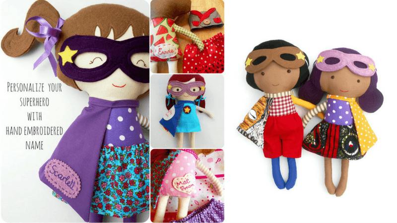 Gift Guide Best Toys for Doll Lovers - La Loba Handmade Dolls