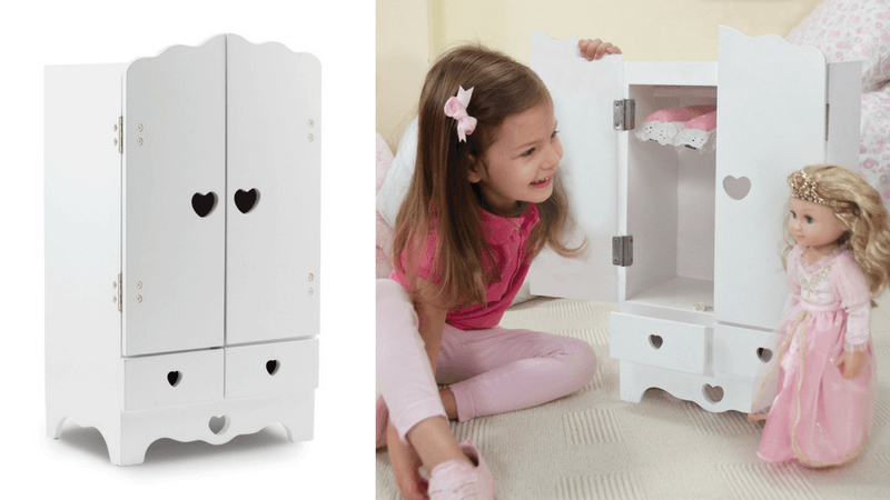 Best Gifts for Doll Lovers - Clothes wardrobe