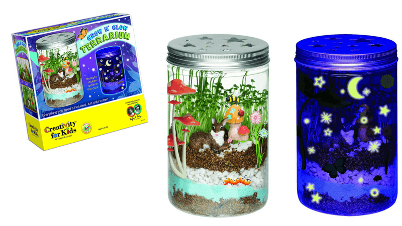 Best Non-Toy Gift Guide for Kids - terrarium