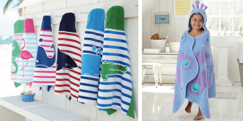 Best Non-Toy Gifts for Kids - personalized bath towel