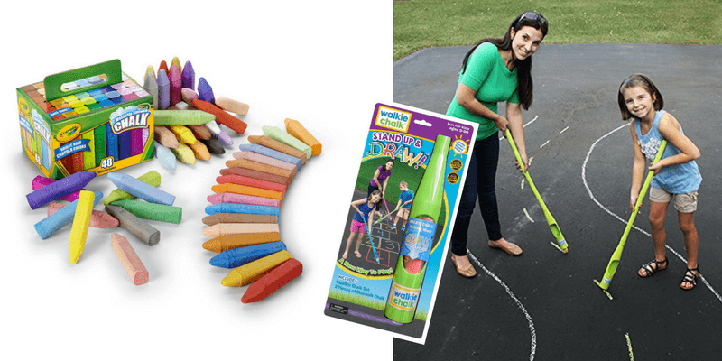 Best Non-Toy Gifts for Kids - Sidewalk Chalk