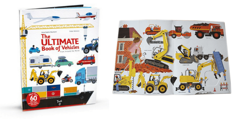 Best Vehicle Toys | Gift Ideas For Car, Truck, Machine and Construction Lovers | Best Books For Boys