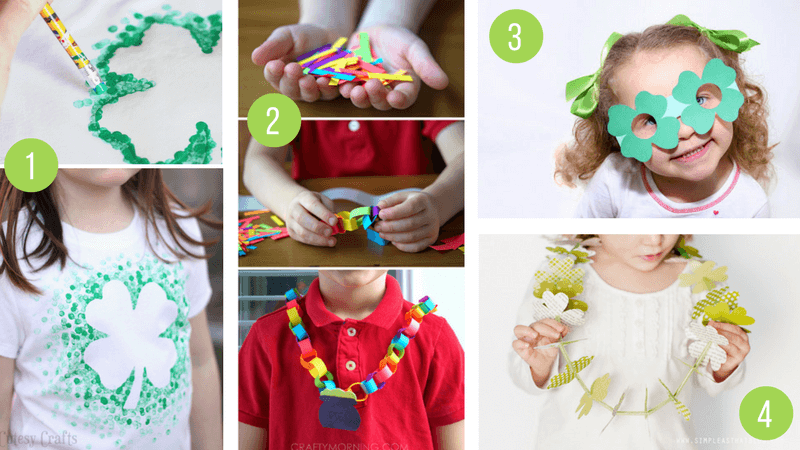 The Best St Patricks Day Arts & Crafts For Kids - Shamrocks, Rainbows and Printables galore!