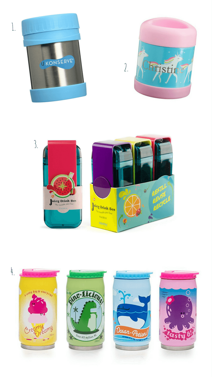 Back to School - Best Lunch Boxes, Water Bottles, Thermos for kids