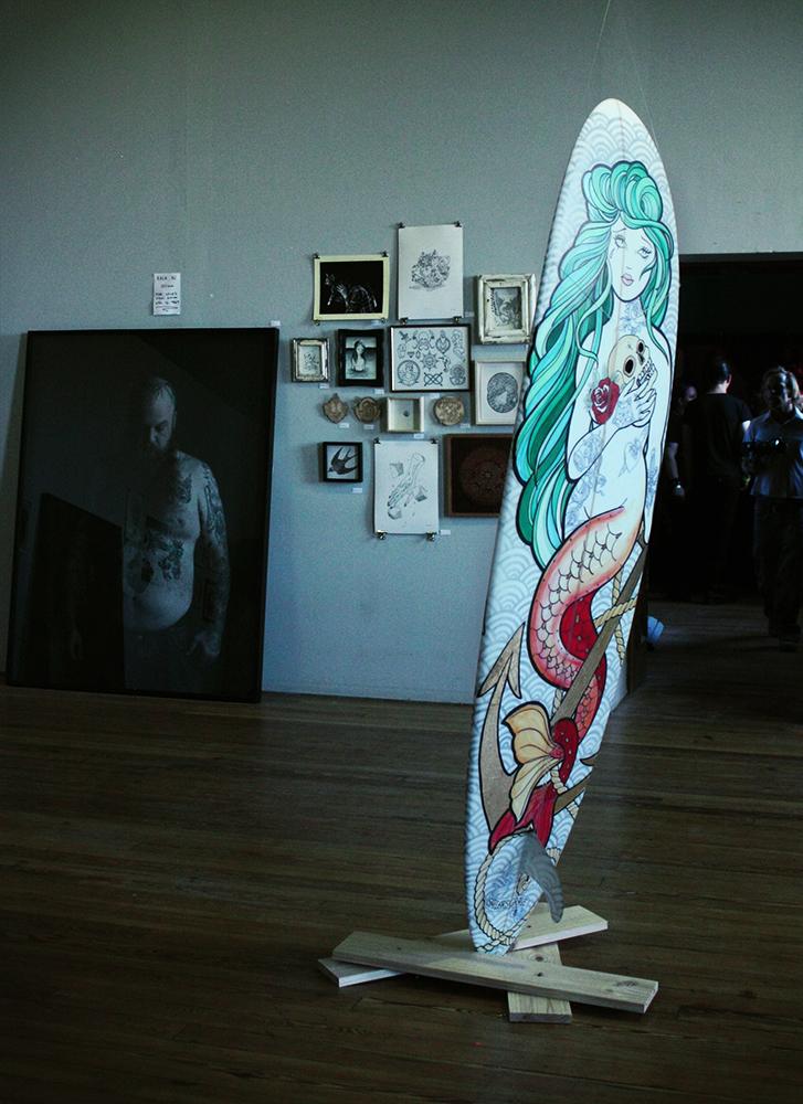 Tattoo-Expo-surf-board
