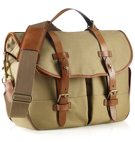 Polo Ralph Lauren Bag, Core Canvas Messenger Bag