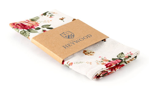 Wallaces Hank - floral pocket square
