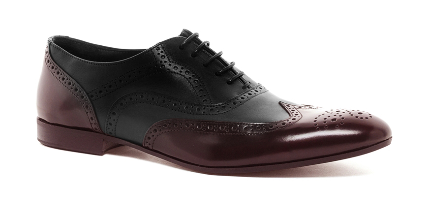 ASOS Brogues in Patent Leather