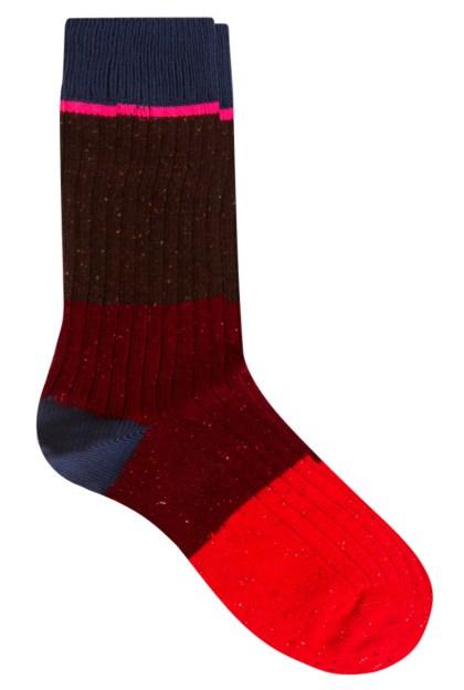 Multi coloured socks by Paul Smith