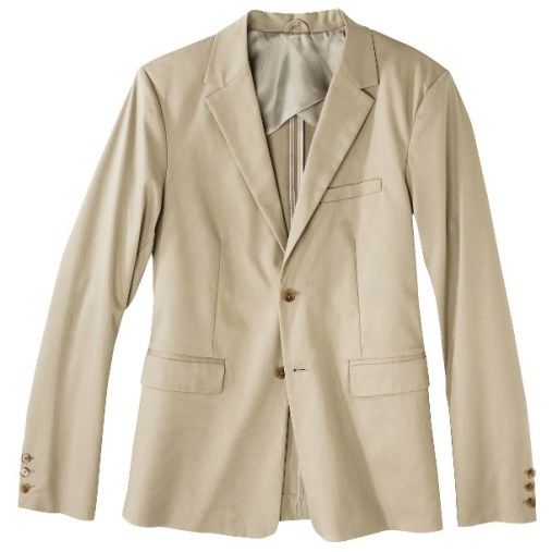 Phillip Lim for Target® Men's Cotton Stretch Blazer - Khaki