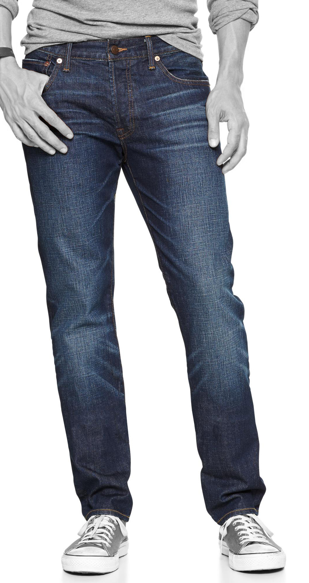 1969 authentic skinny fit jeans (calamity wash)