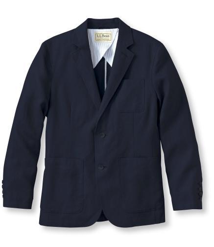 L.L.Bean Classic Linen Blazer