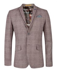 checked-blazer