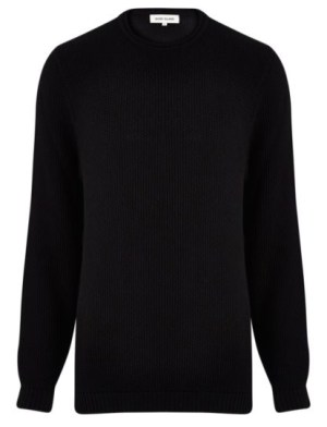 textured-black-sweater