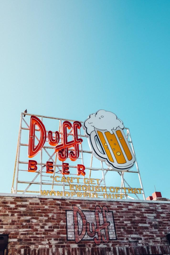 Duff-Beer-Sign-Universal-Studios-Florida