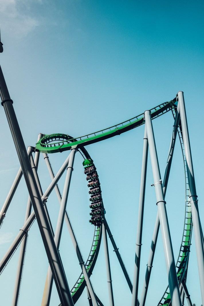 The Hulk Roller Coaster Universal Studios Florida