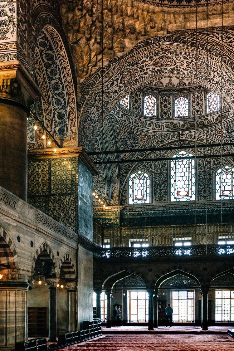 Istanbul-Blue-Mosque Interior