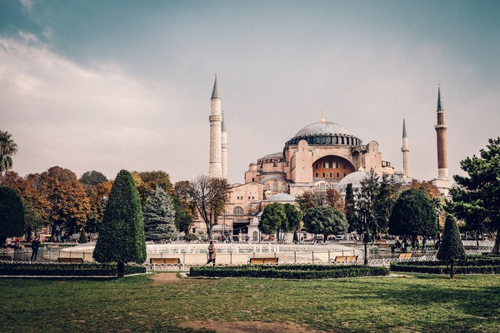 Istanbul-Hagia-Sophia---Landscape