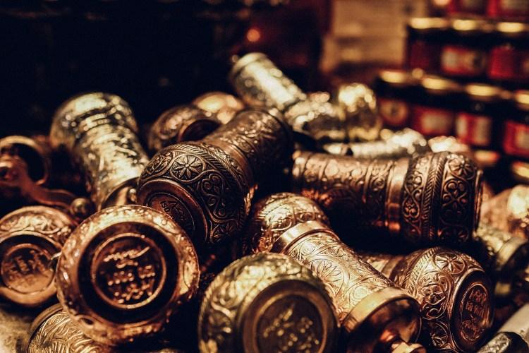 Istanbul-grinders-spice-bazaar