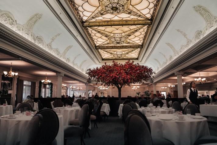 London---Harrods-Tea-Room