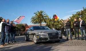 Audi A7 z autopilotem przejedzie 885km do Las Vegas