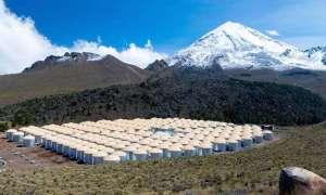 Zbiorniki z wodą pomogą w badaniu kosmicznego promieniowania