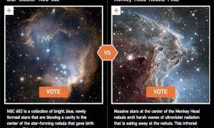 Wybierzcie najlepsze zdjęcie wykonane przez teleskop Hubble'a
