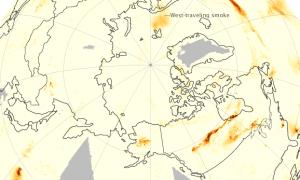 Dym z kanadyjskich pożarów dotarł aż do Europy