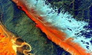 Scott Kelly zasypuje Twittera zdjęciami kosmicznymi Sahary
