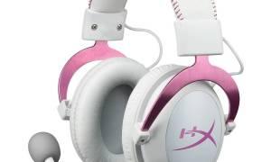 Kingston HyperX Cloud II Biało-różowe