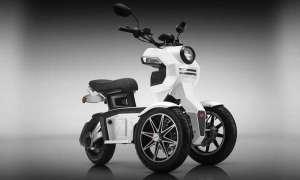Oto trójkołowy elektryczny skuter przyszłości