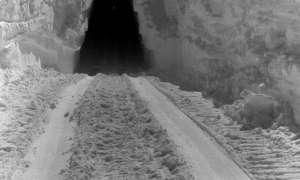 Topniejący lód odkrył bazę z czasów zimnej wojny